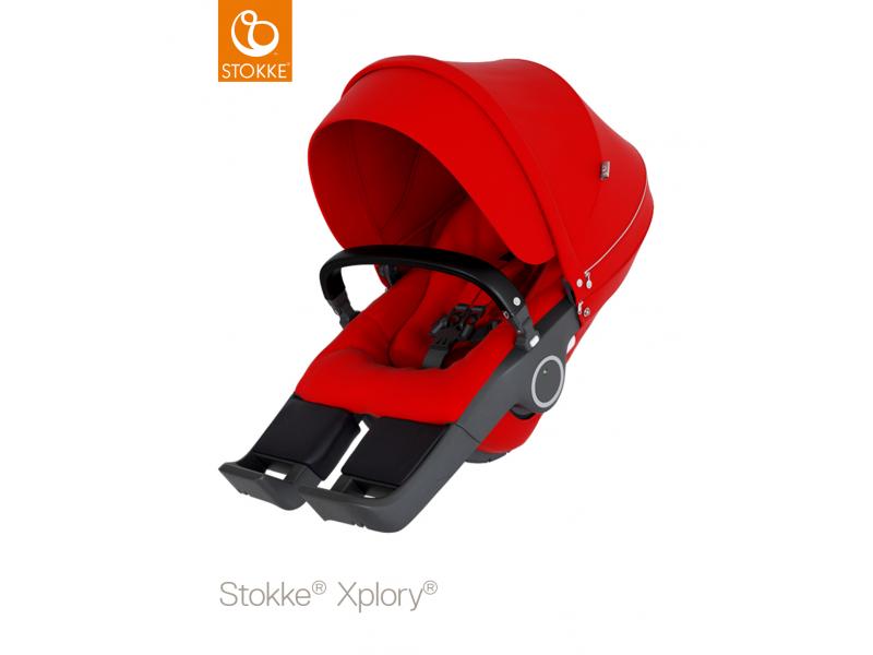 Stokke Sedák na kočárky Xplory® V6, Trailz™ - Red