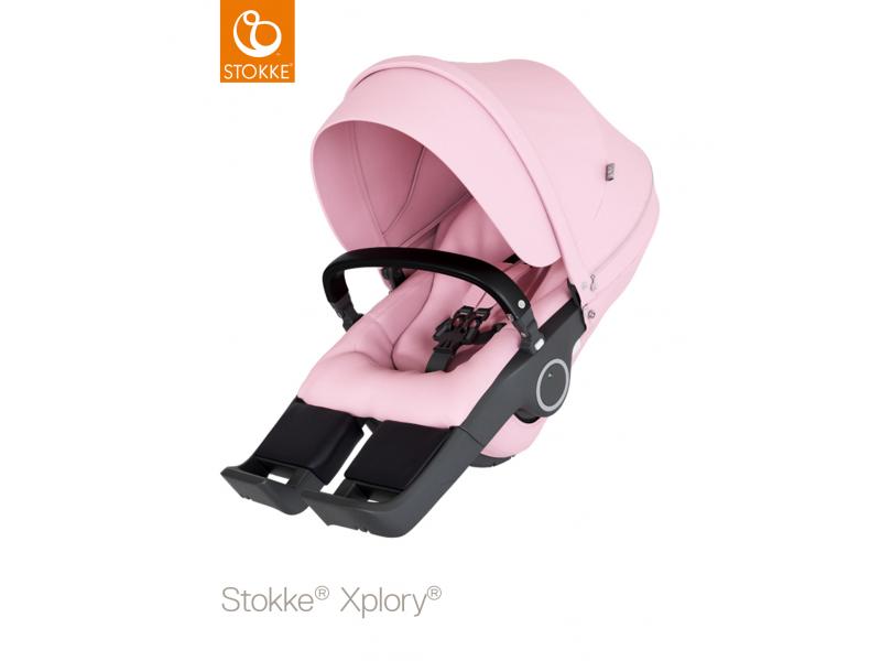 Stokke Sedák na kočárky Xplory® V6, Trailz™ - Lotus Pink