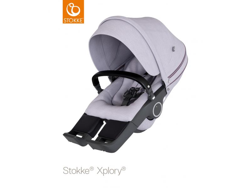 Stokke Sedák na kočárky Xplory® V6, Trailz™ - Brushed Lilac