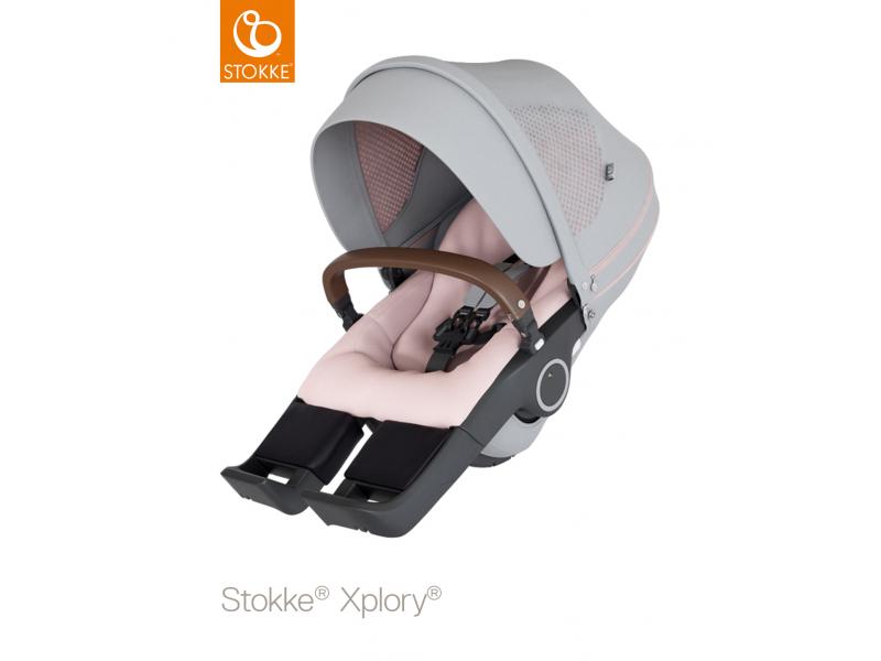 Stokke Sedák na kočárky Xplory® V6, Trailz™ - Athleisure Pink