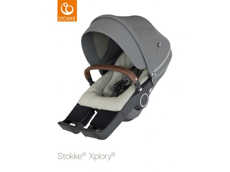 Stokke Sedák na kočárky Xplory® V6, Trailz™ - Athleisure Green
