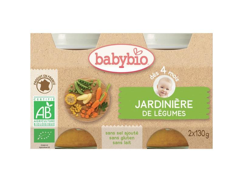 BabyBio příkrm zeleninová směs 2x130g