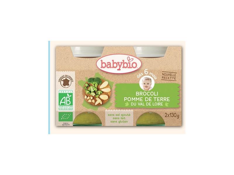 BabyBio příkrm brokolice brambory 2x130g