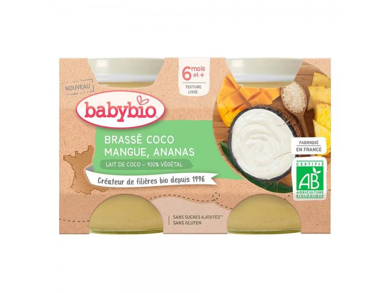 Brassé z kokosového mléka mango ananas 2x130 g 1
