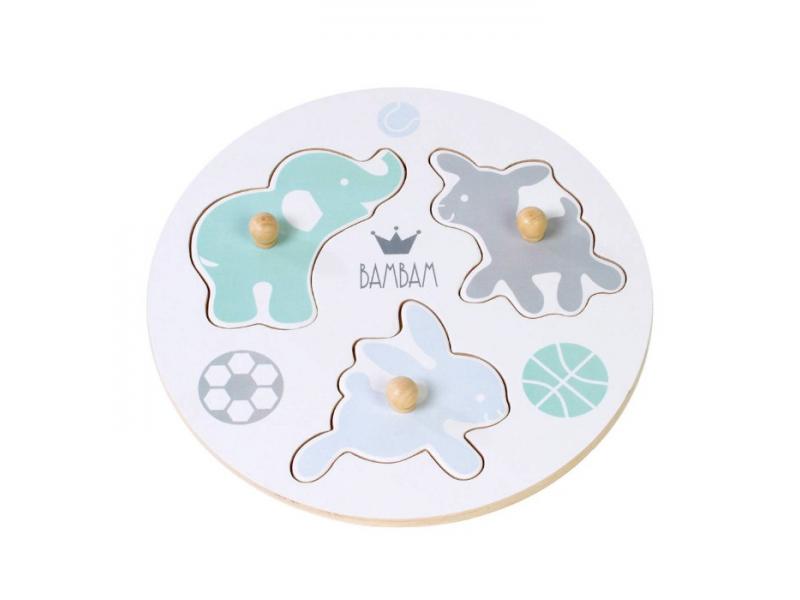 BAMBAM  Puzzle zvířátka 1