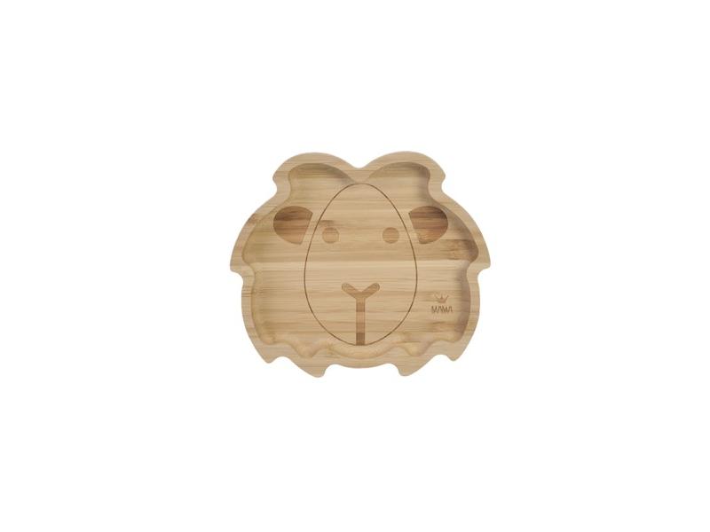 BAMBAM  Bambusový talíř Lev 1