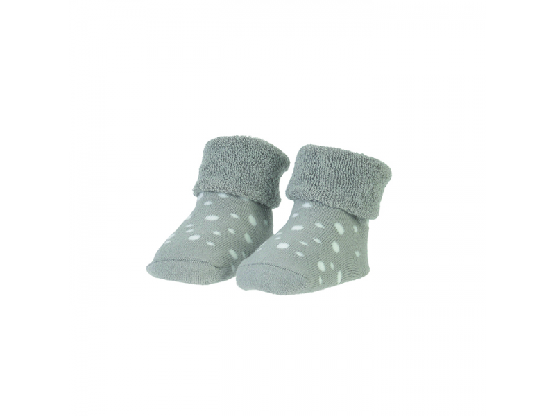 BAMBAM  Ponožky organické sada šedá/puntíky 1