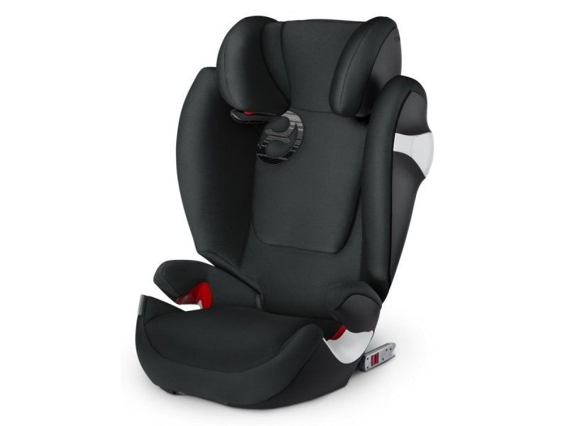 Cybex Solution M-fix Lavastone Black 2018