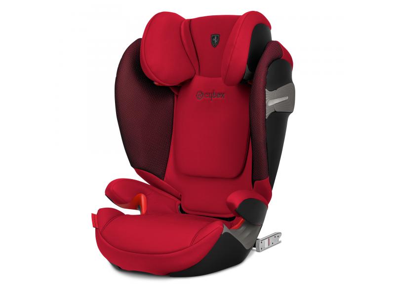 Cybex Solution S-fix Ferrari Racing Red 2019