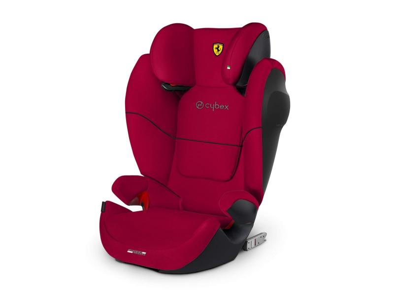 Cybex Solution M-fix SL Ferrari Racing Red 19