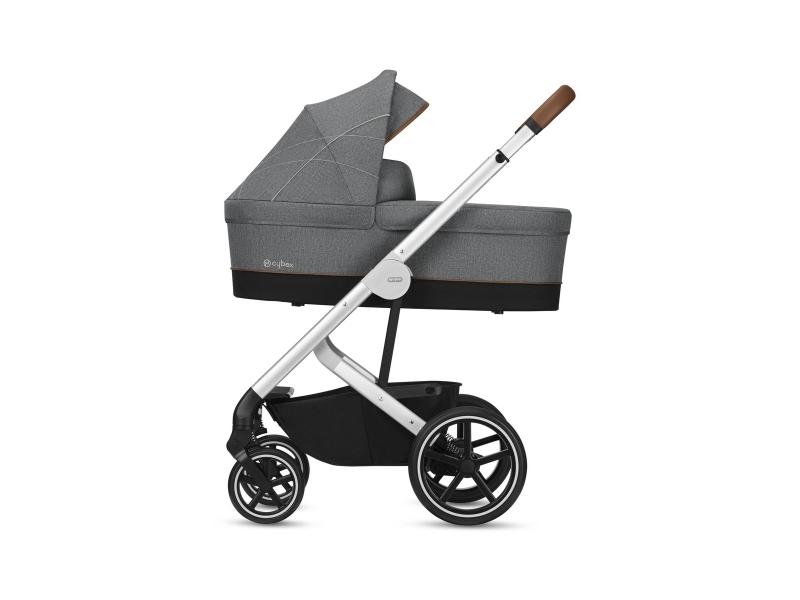 Carry Cot S Denim/Manhattan Grey 2019 1