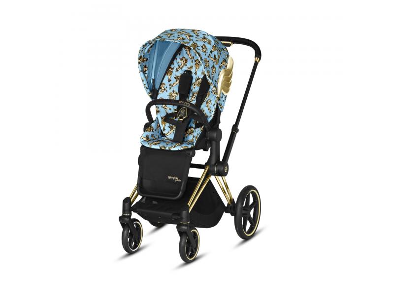 Priam JS Cherub Blue+Lux Seat 2020 1
