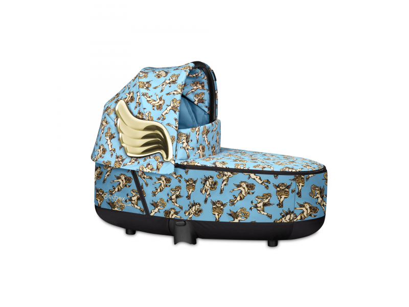 Priam Lux Carry Cot JS Cherub Blue 2020 1