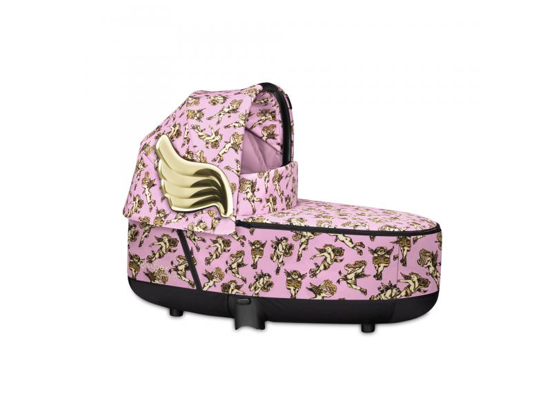 Priam Lux Carry Cot JS Cherub Pink 2020 1