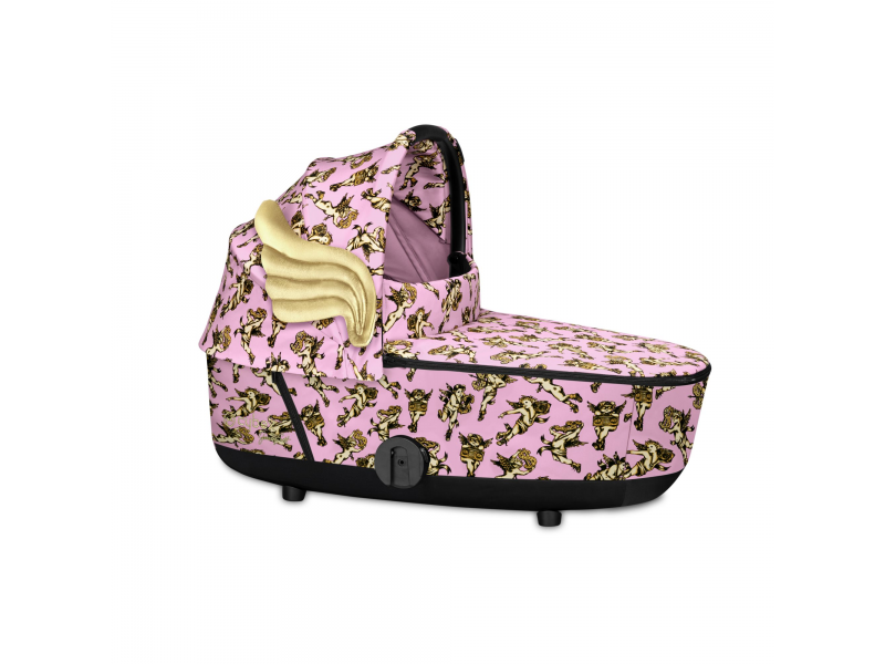 Mios Lux Carry Cot JS Cherub Pink 2020 1