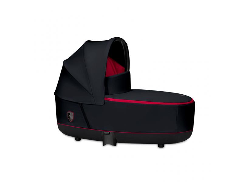 Cybex Priam Lux Carry Cot Ferrari Victory Black 19