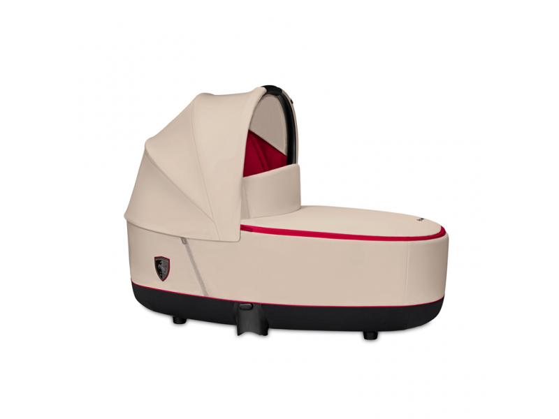 Priam Lux Carry Cot Ferrari Silver Grey 2020 1