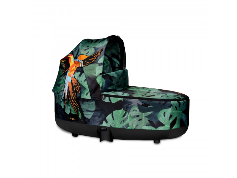 Priam Lux Carry Cot Birds of Paradise 2019 1