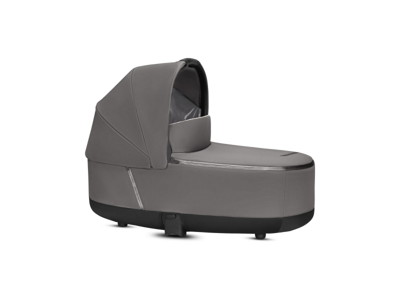 Priam Lux Carry Cot Manhattan Grey 2019 1
