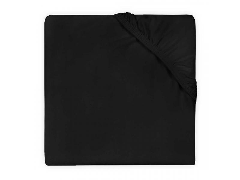 Prostěradlo jersey DOUBLE 120x60, BLACK 1