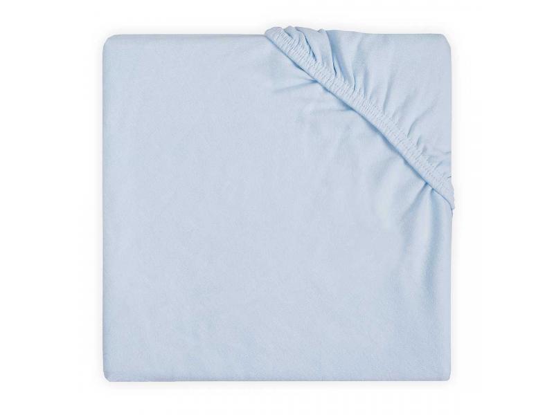 Prostěradlo jersey DOUBLE 120x60, SOFT BLUE 1