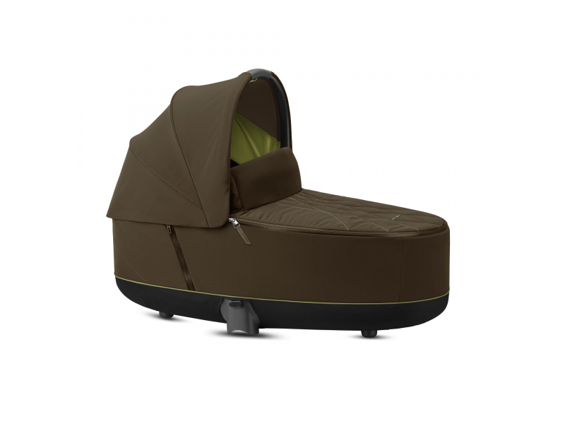 Priam Lux Carry Cot Khaki Green 2020 1