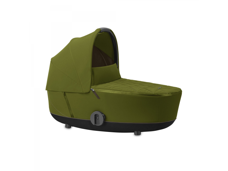 Mios Lux Carry Cot Khaki Green 2020 1