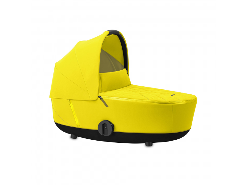 Mios Lux Carry Cot Mustard Yellow 2020 1