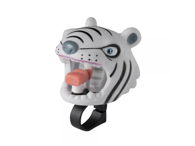Crazy Safety Zvonek Bílý tygr