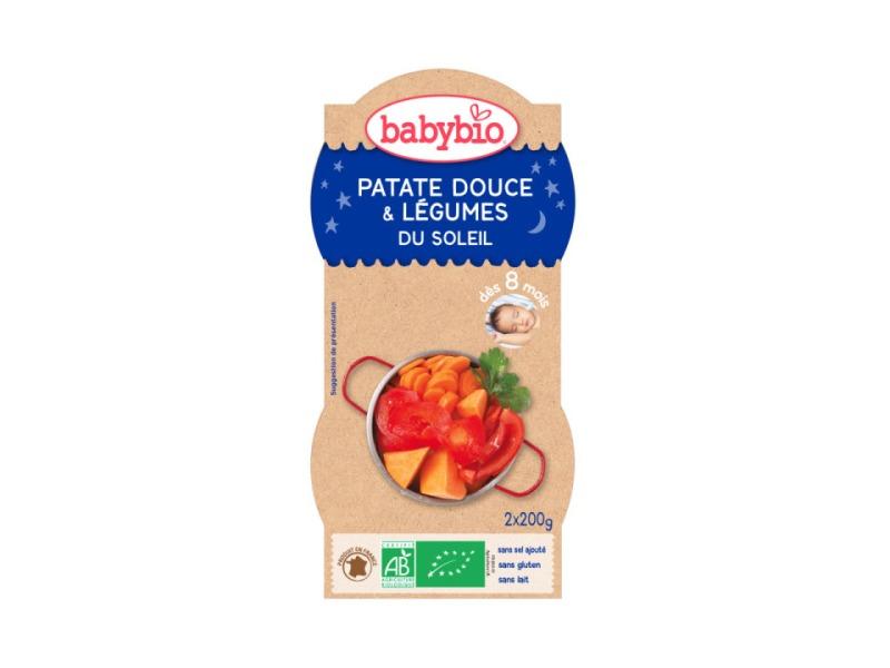 večerní menu sladké brambory s letní zeleninou 2x200g 1