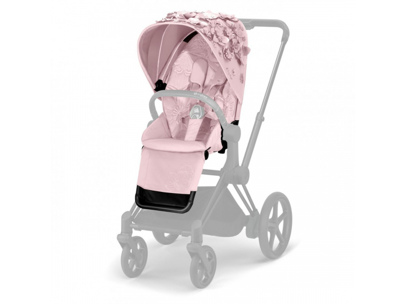Priam Seat Pack SIMPLY FLOWERS, PINK-light pink 1
