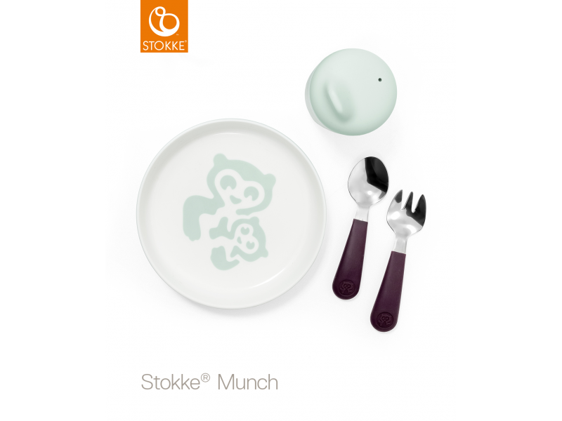 Set nádobí Munch Essential - soft mint 1