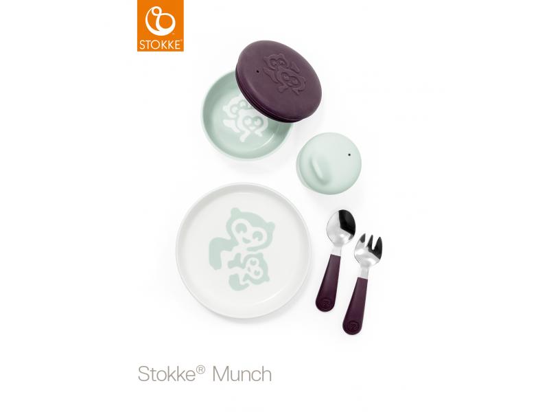 Set nádobí Munch Everyday - soft mint 1
