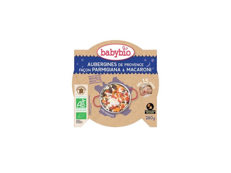 večerní menu lilek na způsob Parmigiana s makarony 260g 1