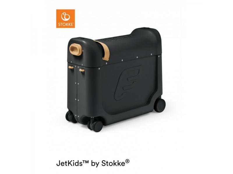 Stokke JetKids™ BedBox® - dětské zavazadlo s lůžkem, Black