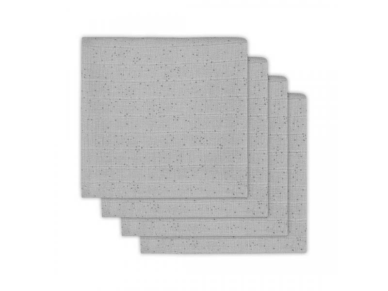 Plena 4 ks, Mini dots mist grey 1
