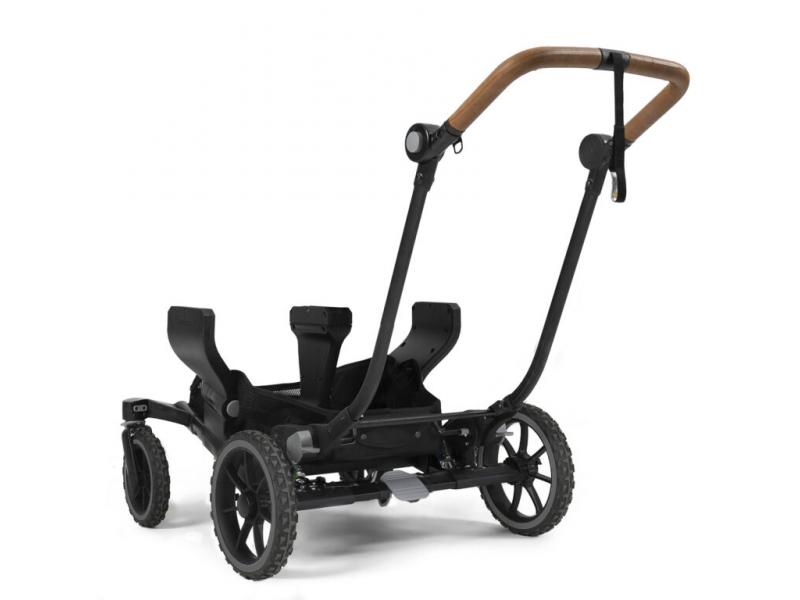 Emmaljunga Chassis NXT Twin black outdoor 17162