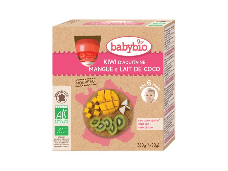 kapsička kiwi mango kokos 4x90g 1
