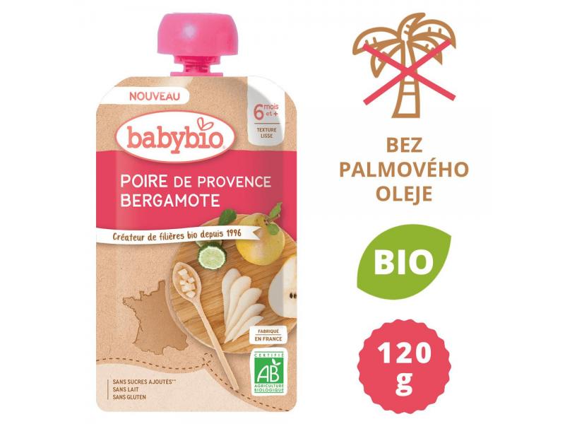 BabyBio hruška Bergamot 120 g