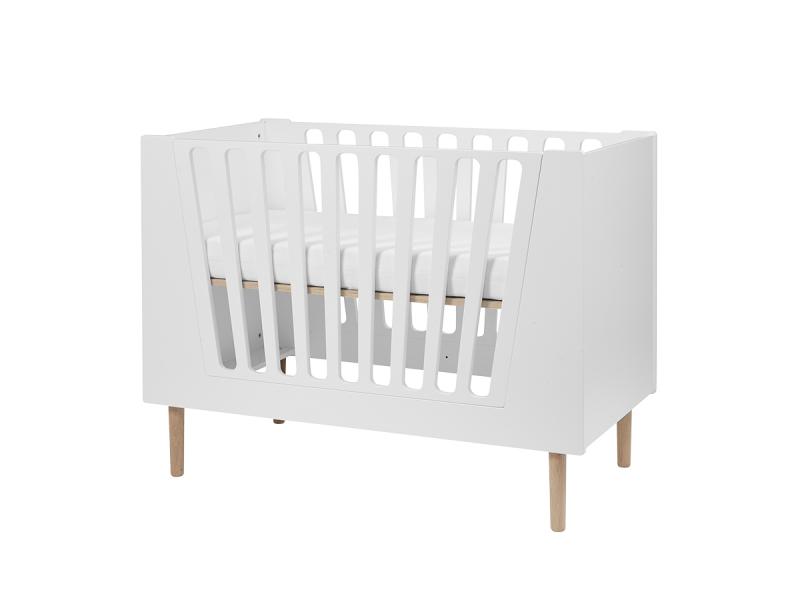 Dětská postýlka 60x120 cm - bílá 1
