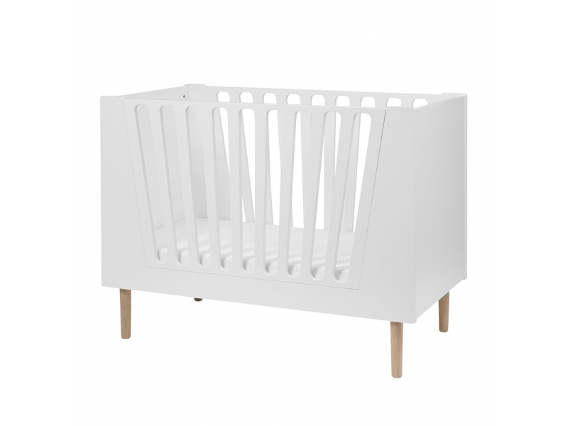 Dětská postýlka 70x140 cm - bílá 1