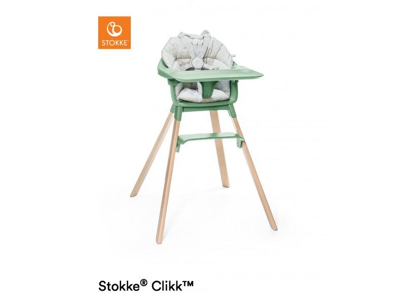 Stokke Židlička Clikk™ - Clover Green