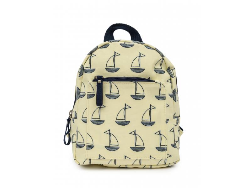 Pink Lining Mini dětský batoh modré lodě