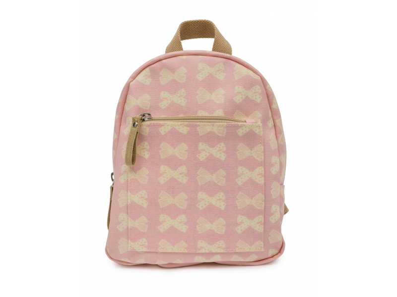 Pink Lining Mini dětský batoh krémové mašle