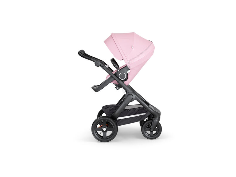 Stokke Kočárek Trailz™, černé madlo - Lotus Pink
