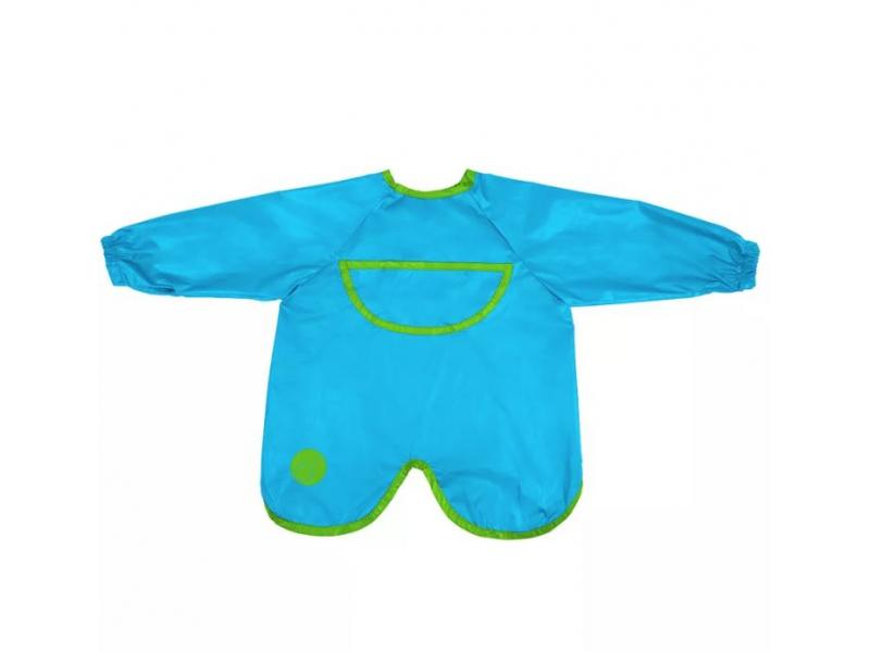 Brydnáček s rukávy - modrý 1