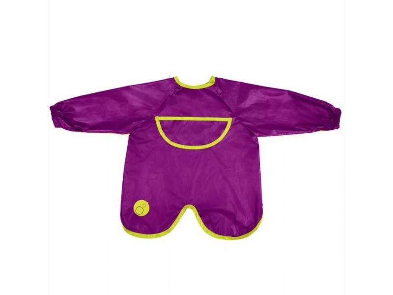 Brydnáček s rukávy - fialový 1