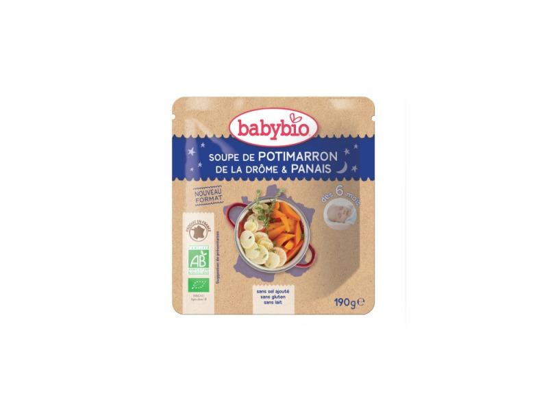 BabyBio dýňová polévka s pastinákem 190g