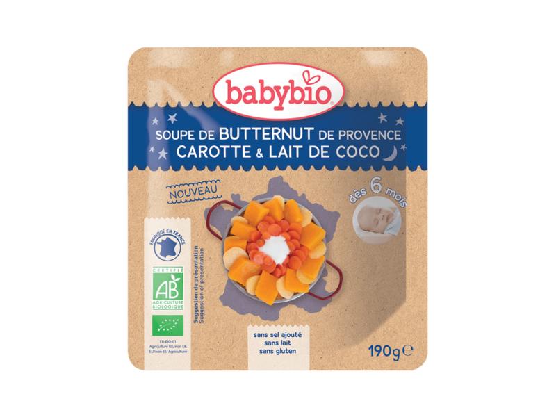 polévka z máslové dýně s mrkví a kokosovým mlékem 190g 1