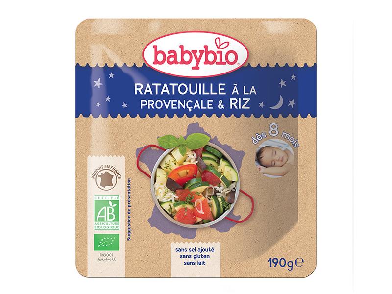 BabyBio Ratatouille po provensálsku s rýží 190g